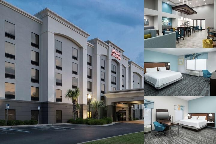 Hampton Inn & Suites Panama City Beach Pier Park photo collage