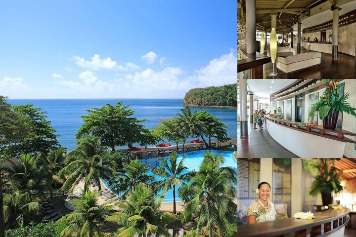 Tahiti Pearl Beach Resort photo collage