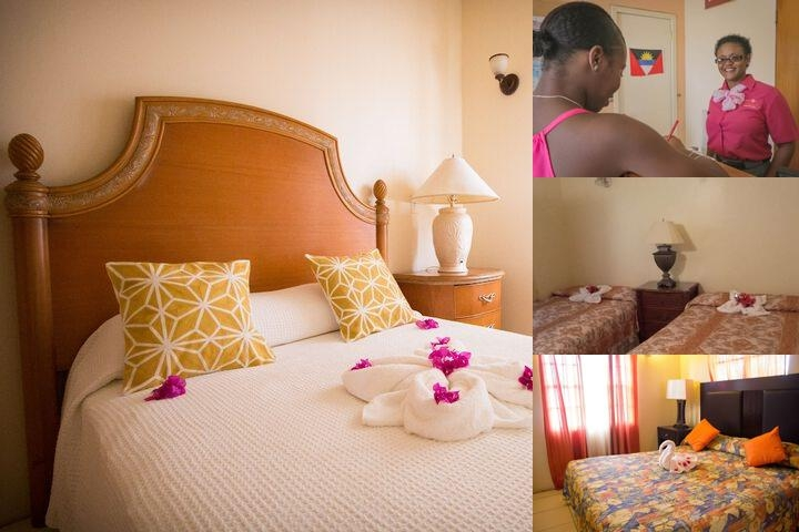 Connie's Comfort Suites photo collage