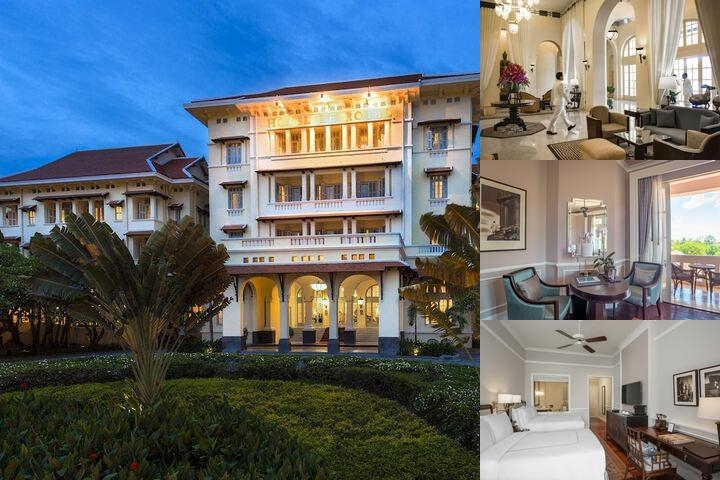 Raffles Hotel Le Royal photo collage