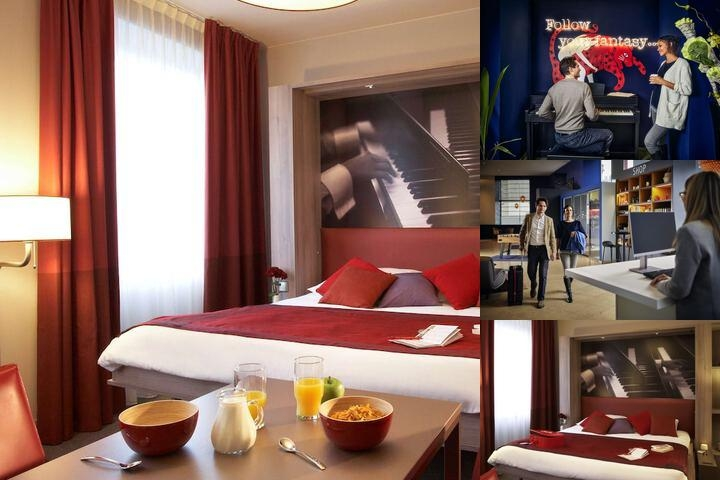 Adagio Vienna City photo collage