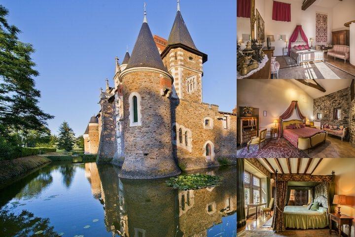 Ch teau de la colaissiere saint sauveur de landemont 37 for Chateau de la colaissiere