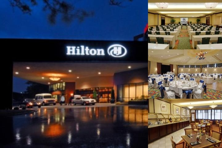Hilton Indianapolis North photo collage