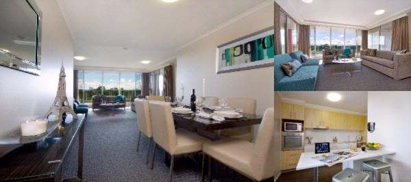 Pacific Suites Canberra photo collage