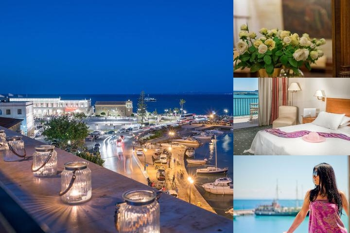Strada Marina Hotel Zante photo collage