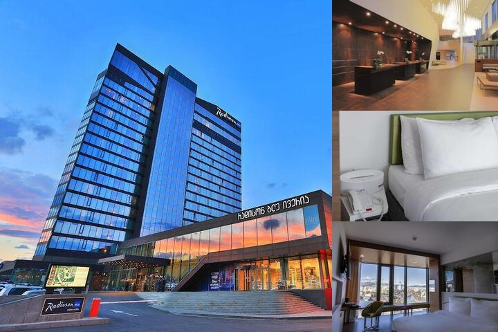 Radisson Blu Iveria Hotel Tbilisi photo collage