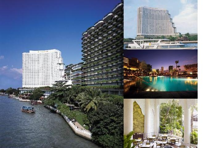 Shangri La Bangkok photo collage