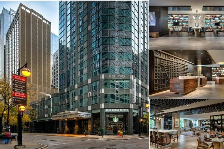 Hyatt Chicago Magnificent Mile photo collage
