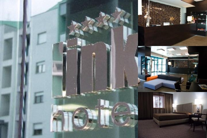 Link Hotel photo collage
