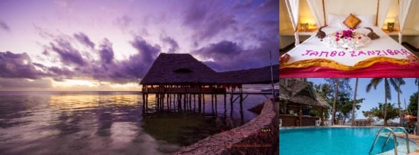 Paradise Beach Resort photo collage