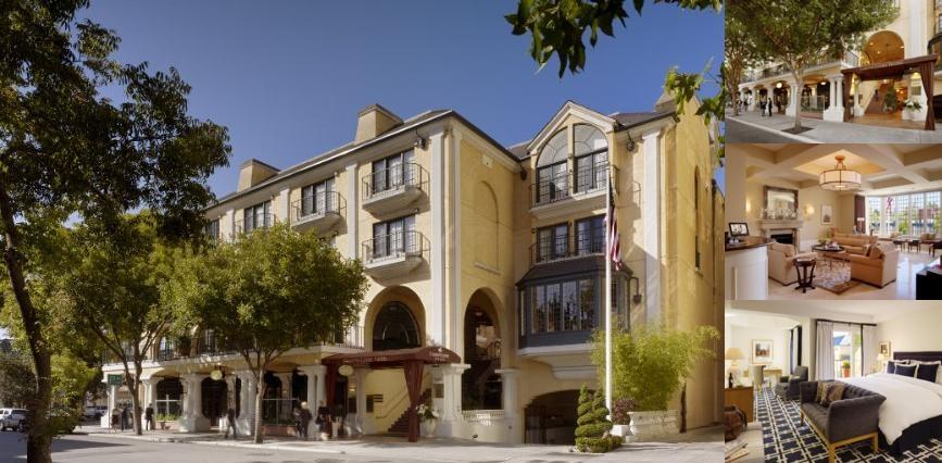 GARDEN COURT HOTEL Palo Alto CA 520 Cowper 94301