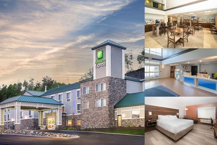 Holiday Inn Express Houghton Keweenaw photo collage