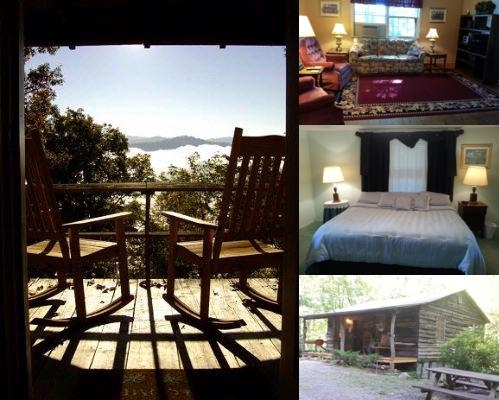 Arrowmont Stables & Cabins photo collage