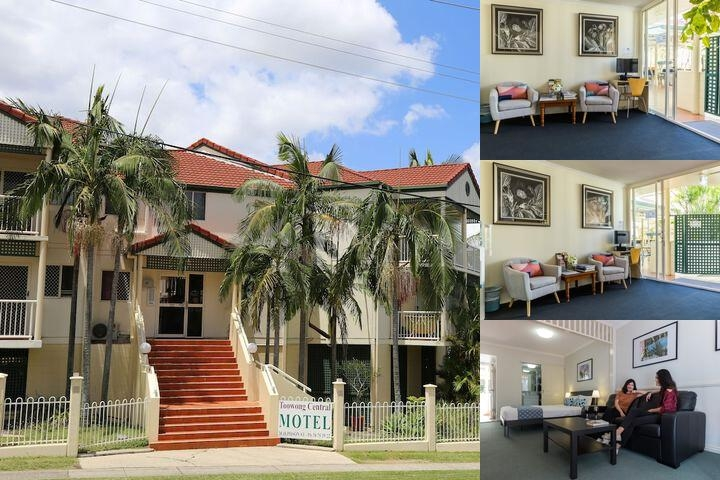 Toowong Central Motel Apartment photo collage