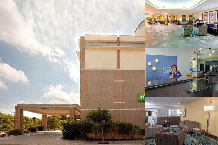 Holiday Inn Express Suites Rivercenter photo collage