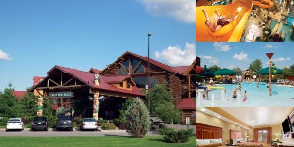 Great Wolf Lodge Kansas City photo collage