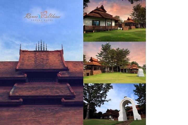 Rawee Waree Luxury Hotel Chiang Mai photo collage