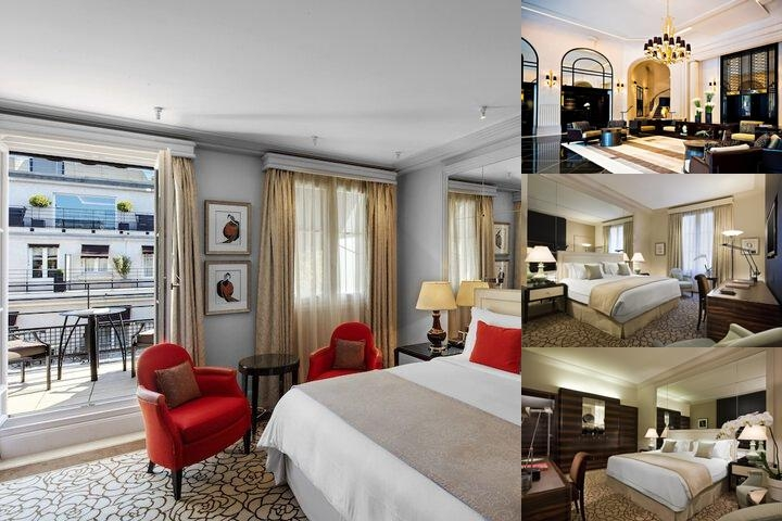 Prince De Galles a Luxury Collection Hotel photo collage