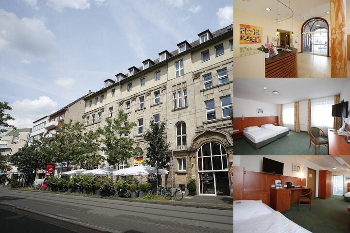 Top Khr Stadthotel Dusseldorf photo collage