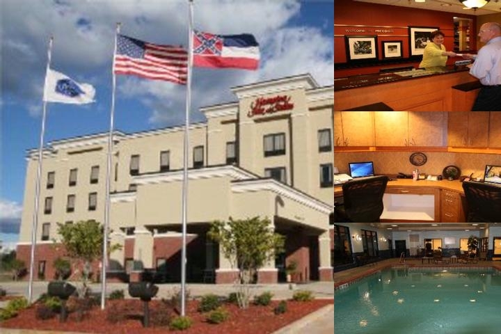 Hampton Inn Suites Mccomb photo collage