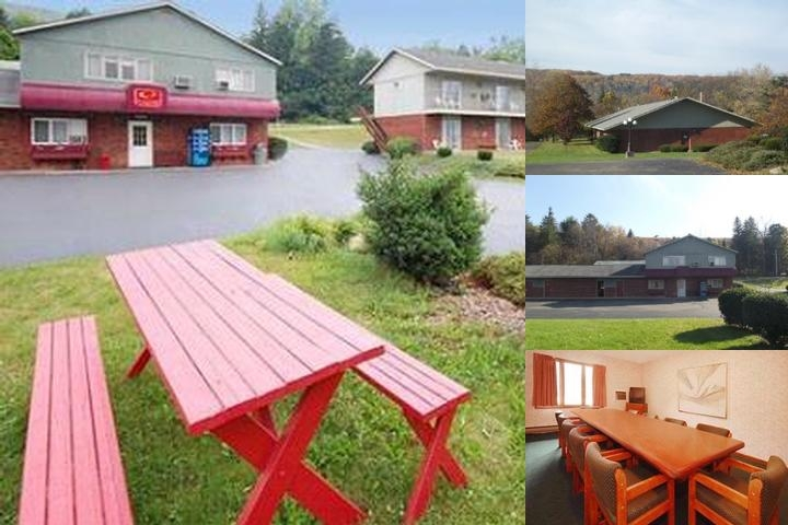 Hornell Econo Lodge photo collage