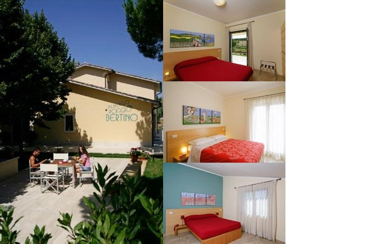 Hotel Poggio Bertino photo collage