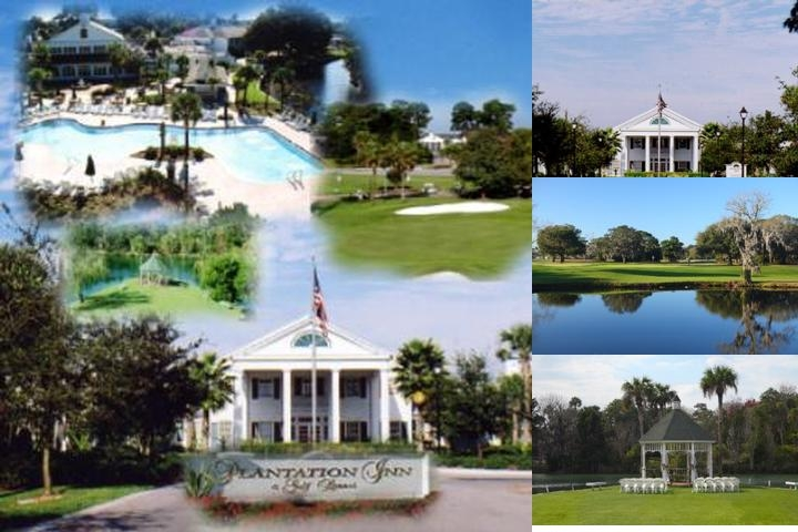 Plantation on Crystal River photo collage