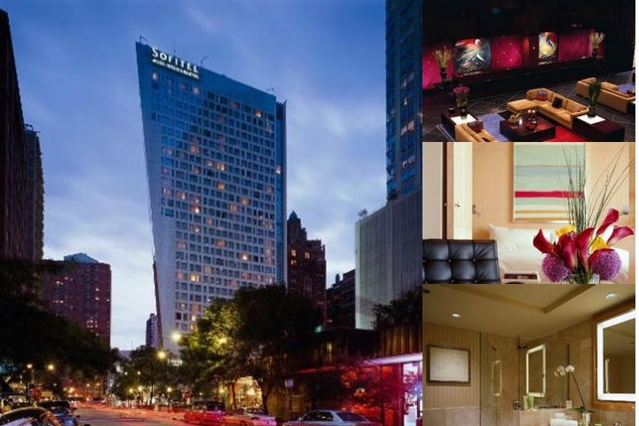 Sofitel Chicago Water Tower photo collage