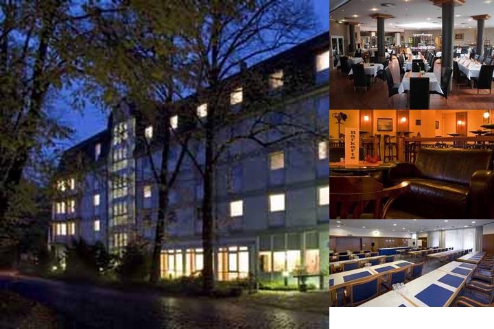 Hotel Hoppegarten Berlin photo collage