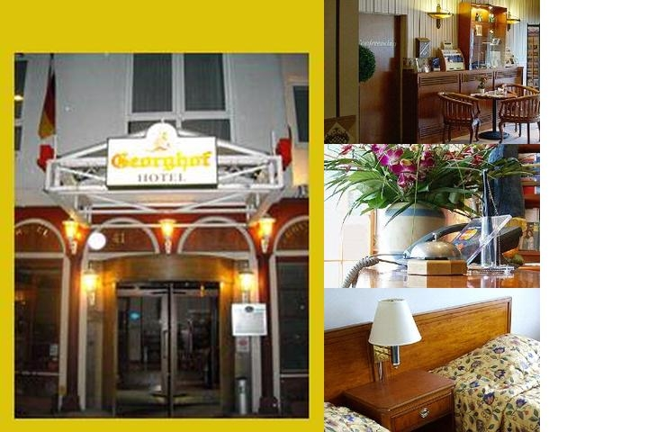 Georghof Hotel & Hostel Berlin photo collage