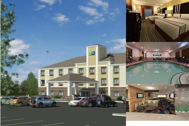 Holiday Inn Express in Marshall photo collage
