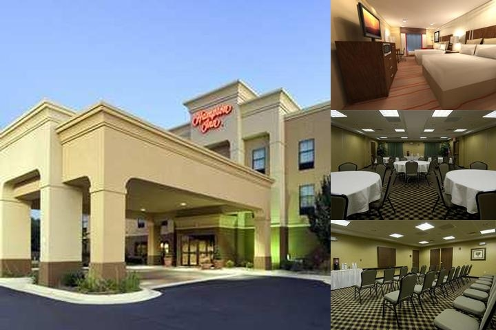 Hampton Inn in Marshall photo collage