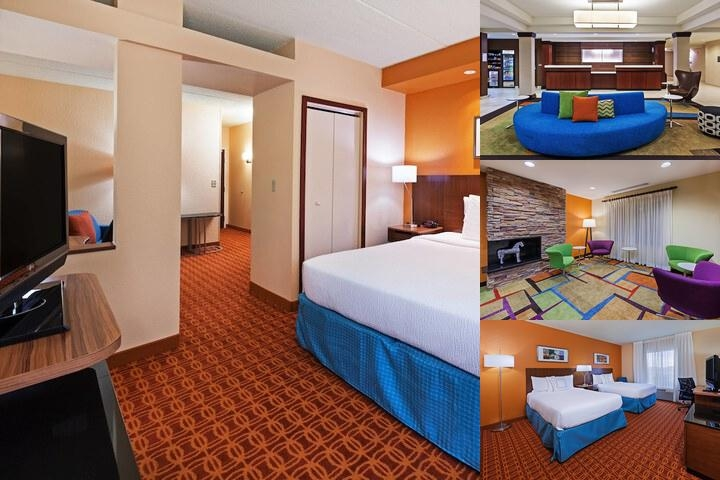 Marriott Fairfield Inn & Suites Nw Near Domain photo collage