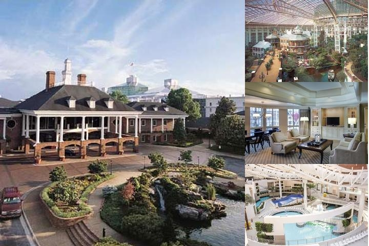 Gaylord Opryland Resort & Spa photo collage