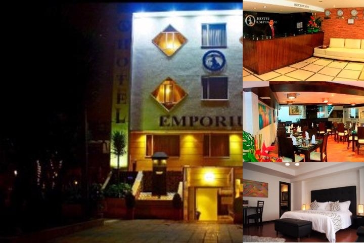 Hotel Emporium Bogota photo collage