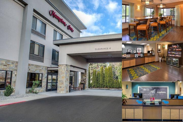 Hampton Inn Portland East photo collage
