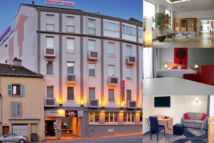 Mercure Epinal Centre photo collage