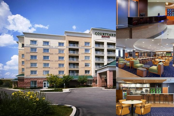 Courtyard by Marriott Toronto Markham photo collage