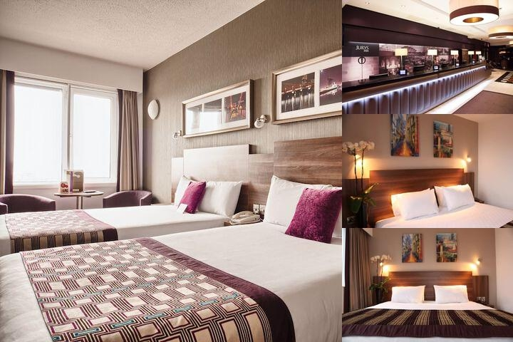 Jurys Inn Glasgow photo collage