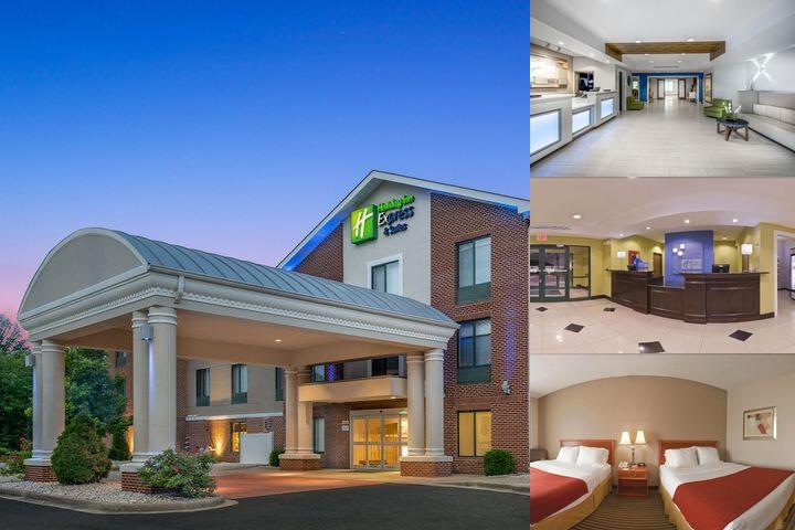 Holiday Inn Express Hotel & Suites Tell City photo collage