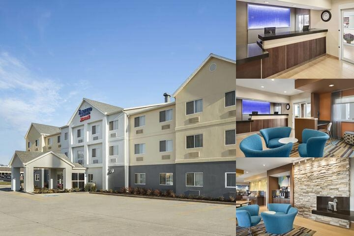 Fairfield Inn Marriott photo collage