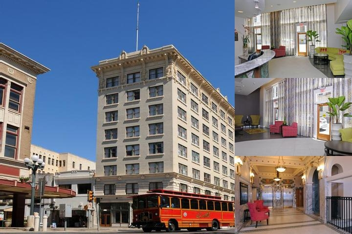 Hotel Gibbs Downtown Riverwalk photo collage