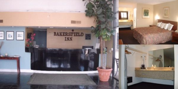 Bakersfield Inn photo collage