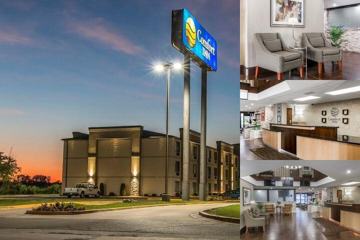 Comfort Inn Metro Airport photo collage