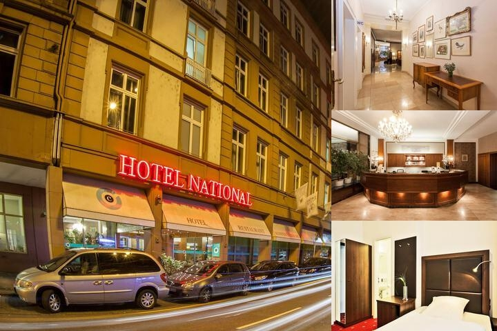 National Hotel photo collage