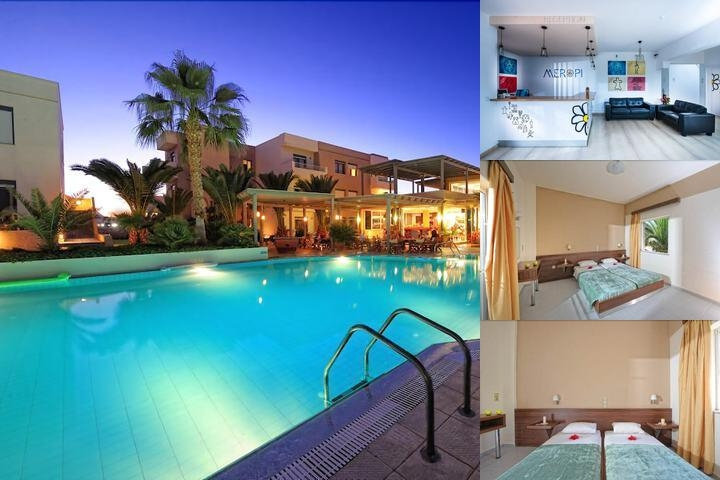 Meropi Hotel photo collage