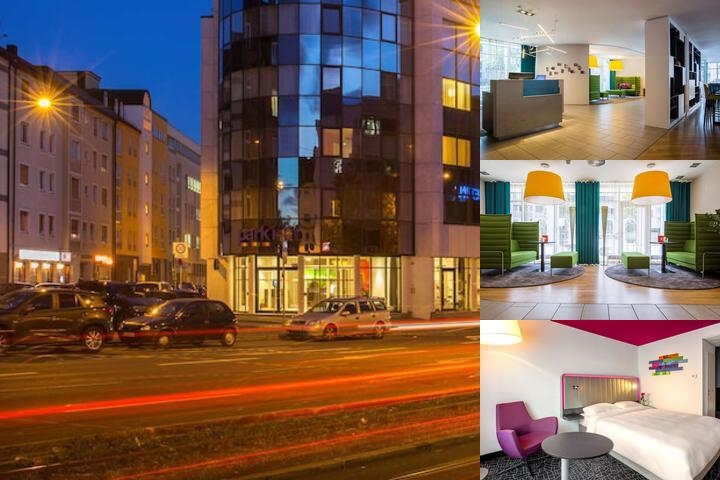 Park Inn by Radisson Nuremberg photo collage