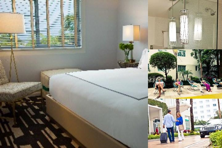 Kimpton's Surfcomber South Beach Hotel photo collage
