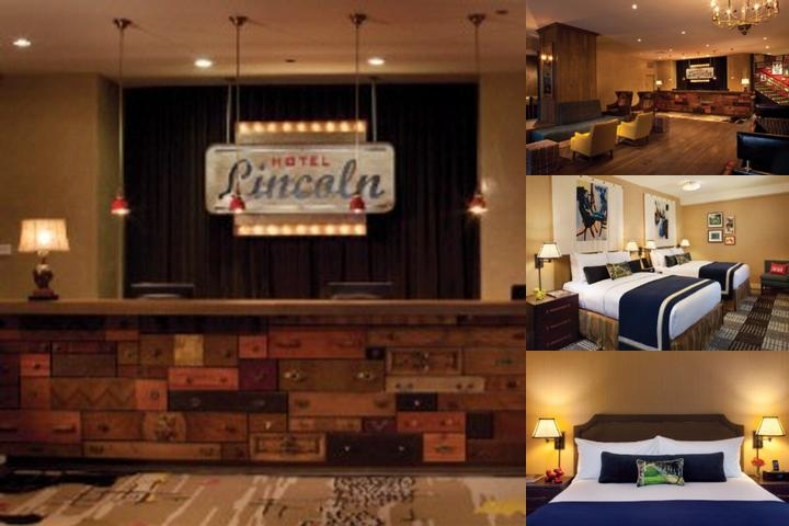Hotel Lincoln photo collage