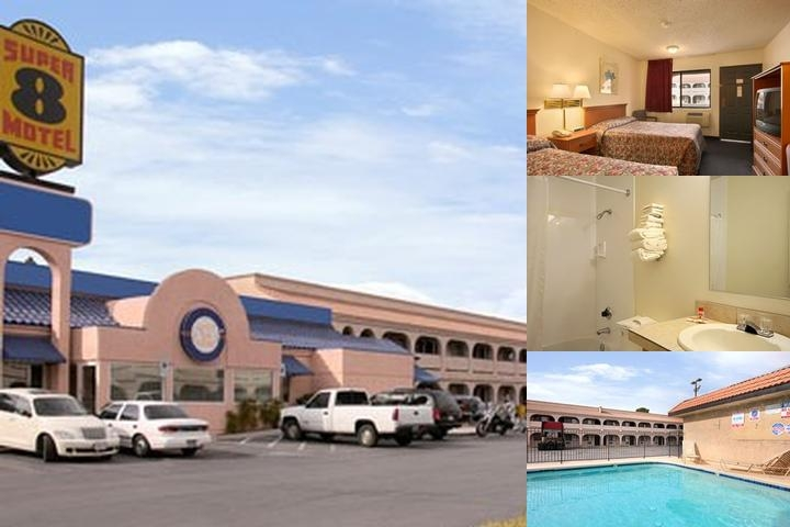 Super 8 Las Vegas photo collage